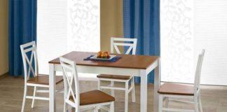 Krzesła do jadalni dla miłośników stylu retro